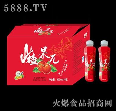 山楂果π果汁饮料500mlx15瓶