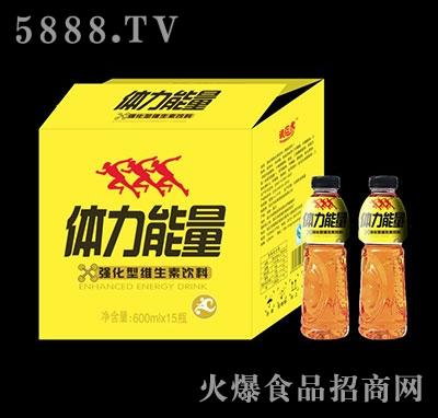 体力能量强化维生素饮料600mlx15瓶