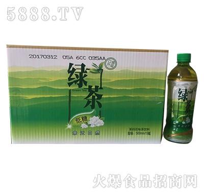 绿茶茉莉花茶饮料500mlx15瓶