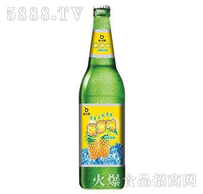 加宝露菠萝啤碳酸饮料
