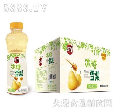 尊仕冰糖雪梨乳酸菌果汁600mlX15产品图