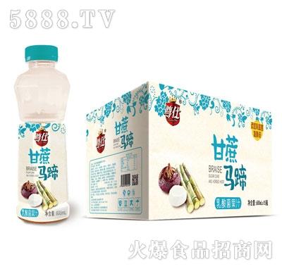 尊仕甘蔗马蹄乳酸菌果汁600mlX15
