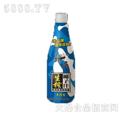 珊亚果肉型生榨椰子汁植物蛋白饮料1千克