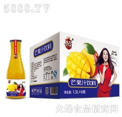 尊仕芒果汁饮料1.5LX6