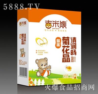 蜂蜜菊花晶清润畅盒装产品图