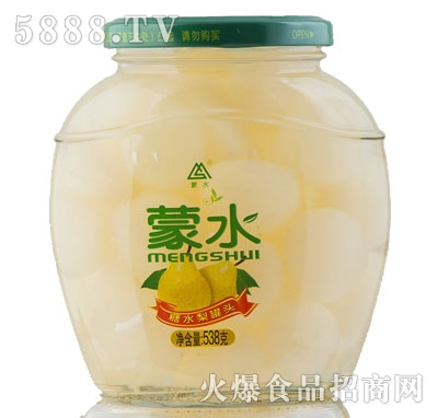 蒙水糖水梨罐头538g
