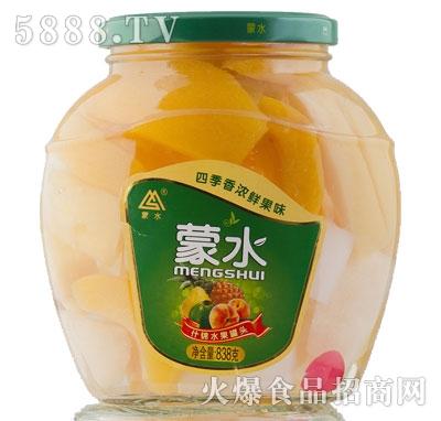 蒙水什锦水果罐头838g