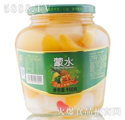 蒙水什锦水果罐头950g