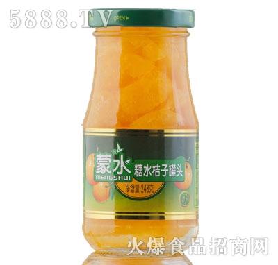 蒙水糖水桔子罐头248克