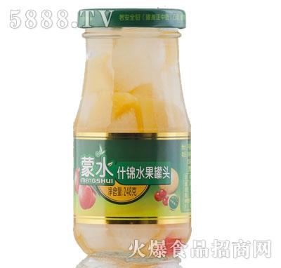 蒙水什锦水果罐头248克