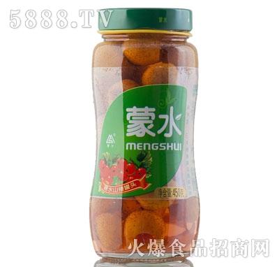 蒙水糖水山楂罐头450克