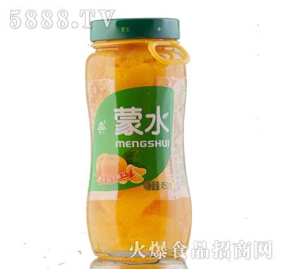 蒙水糖水桔子罐头450g