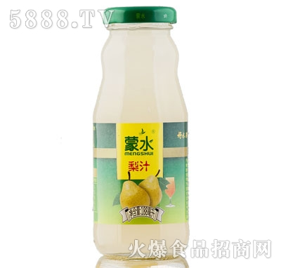 蒙水梨汁188ml