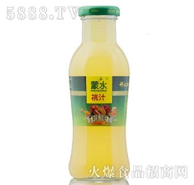 蒙水桃汁280ml