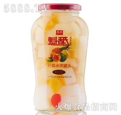 魁舐什锦水果罐头528g