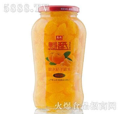 魁舐糖水桔子罐头528g