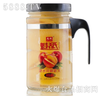 魁舐糖水黄桃罐头608g