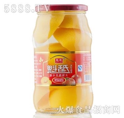 魁舐糖水黄桃罐头820g
