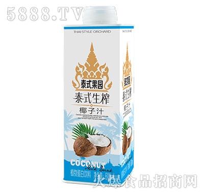 百事得泰式生榨椰子汁饮料600ml