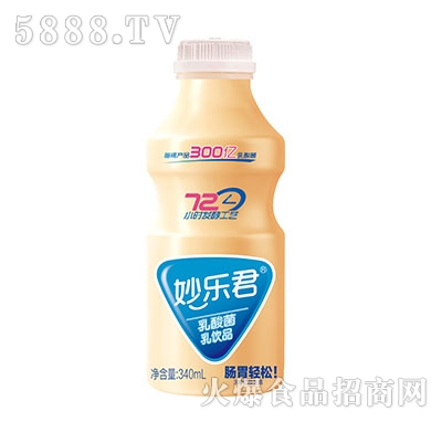 340ml妙乐君乳酸菌饮品