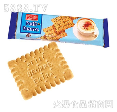 Petit-beurre牛奶饼干袋装
