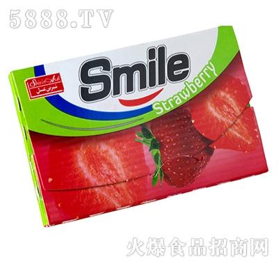 smile草莓口香糖