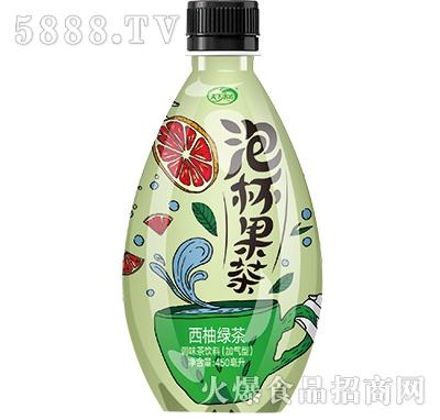 天下水坊泡杯果茶西柚绿茶450ml产品图
