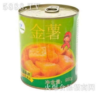 海山金薯罐头产品图