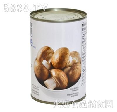 海山香菇罐头(整菇)装产品图