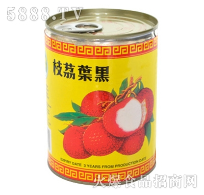 海山糖水荔枝罐头产品图