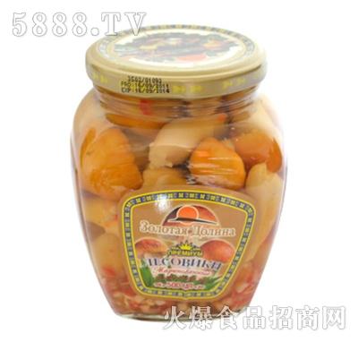 海山球盖菇罐头(整菇)产品图