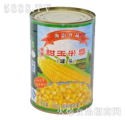 海山甜玉米粒罐头400g产品图
