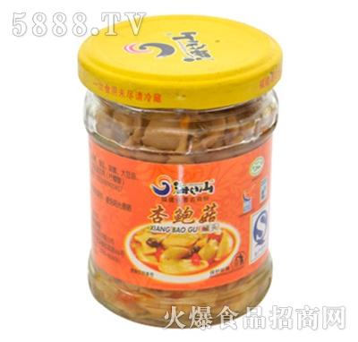 海山调味杏鲍菇150g产品图