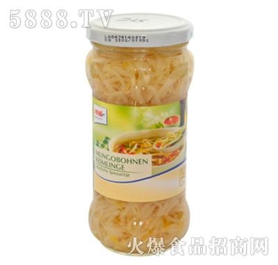 海山清水豆芽罐头装产品图