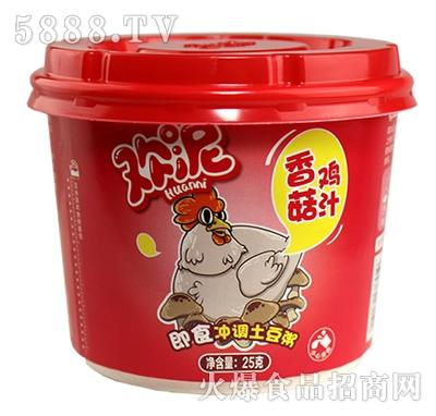 欢泥即时冲调土豆粥香菇鸡汁25g