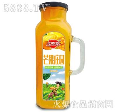 金娇阳芒果庄园果味饮料1L