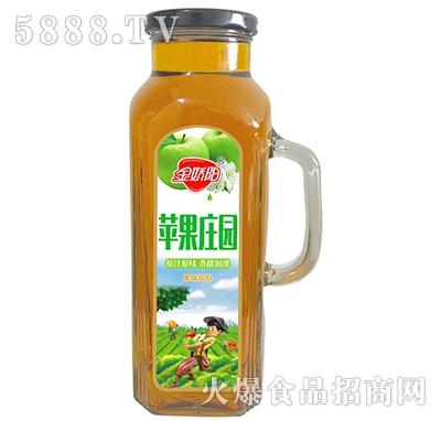 金娇阳苹果庄园果味饮料1L