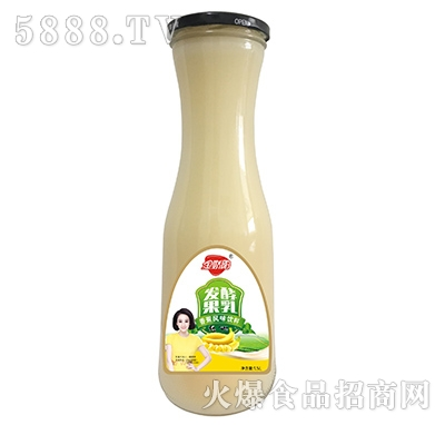金娇阳发酵果乳香蕉风味饮料1.5L