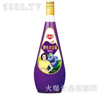 金娇阳野生冰蓝莓果味饮料1.5L