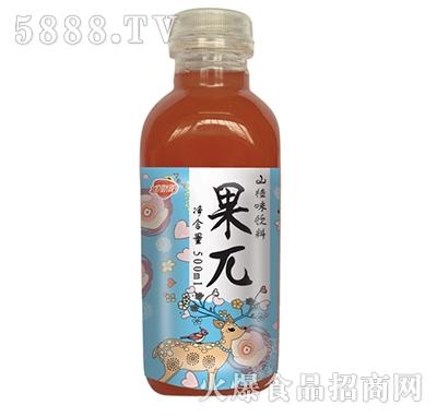 金娇阳果山楂味果味饮料500ml