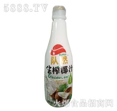 队然生榨椰汁植物蛋白饮料