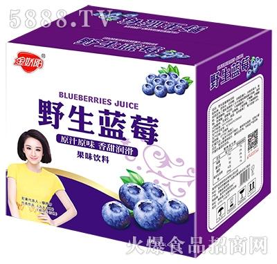 金娇阳野生蓝莓果味饮料箱子1.5Lx6瓶