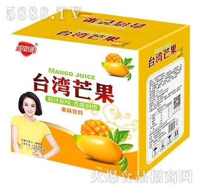 金娇阳台湾芒果果味饮料箱子1.5Lx6瓶
