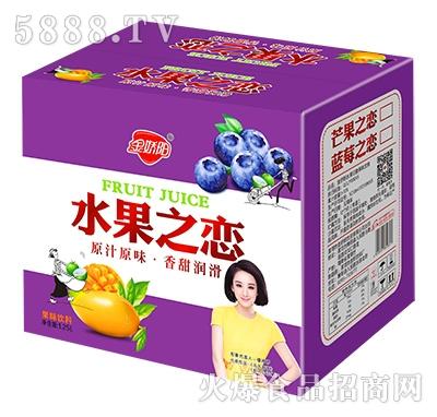 金娇阳水果之恋果味饮料箱子
