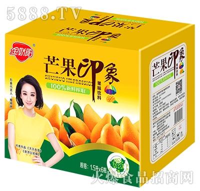金娇阳芒果印象果味饮料箱子1.5Lx6瓶