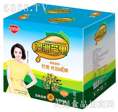 金娇阳澳洲芒果果味饮料箱子1.5Lx6瓶