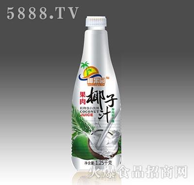 椰果园果肉椰子汁1.25kg