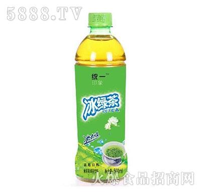 统一印象冰绿茶茉莉花味500ml