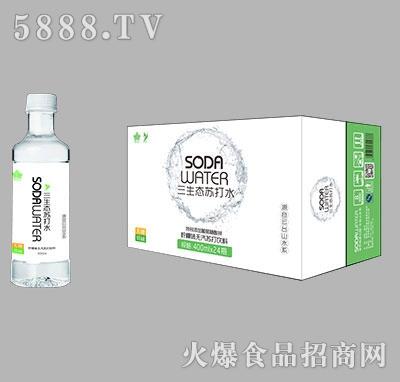 三生态苏打水400mlx24瓶