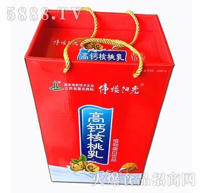 伟楼阳光高钙核桃乳礼盒蛋白饮料